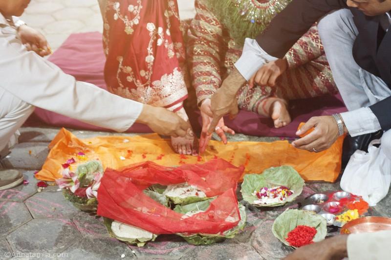 фоторепортаж о непальской свадьбе (38)