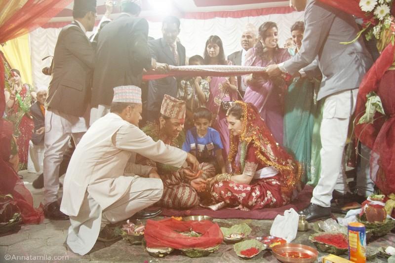фоторепортаж о непальской свадьбе (36)
