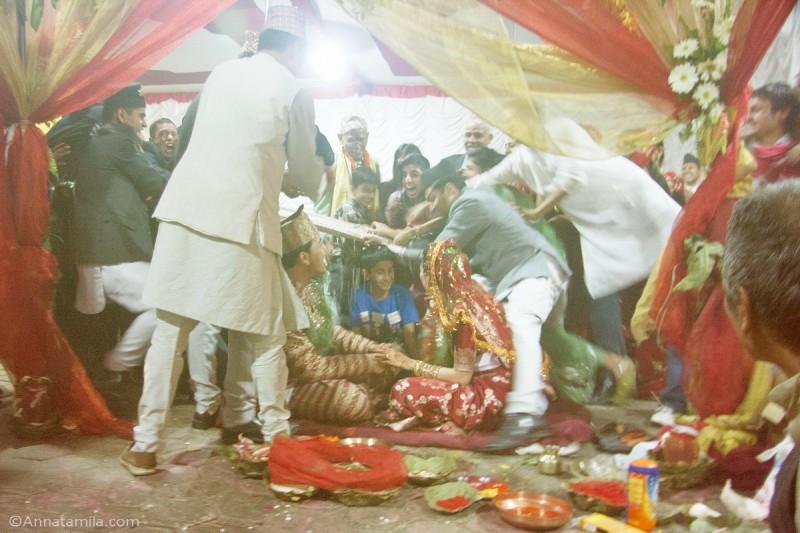 фоторепортаж о непальской свадьбе (35)