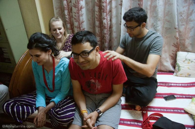 фоторепортаж о непальской свадьбе (4)
