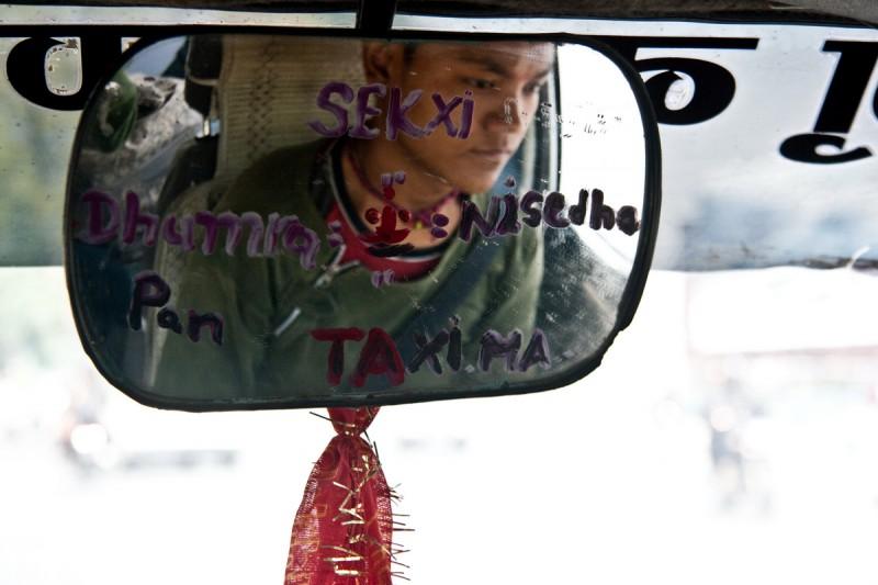 В непальском такси