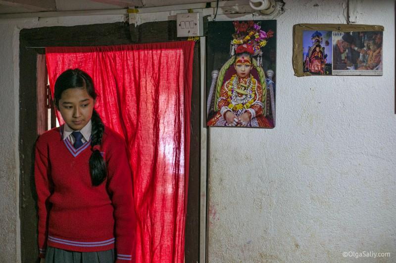 Старшая сестра Кумари, Непал