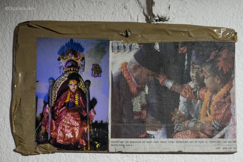 В гостях у Кумари в Непале (16)