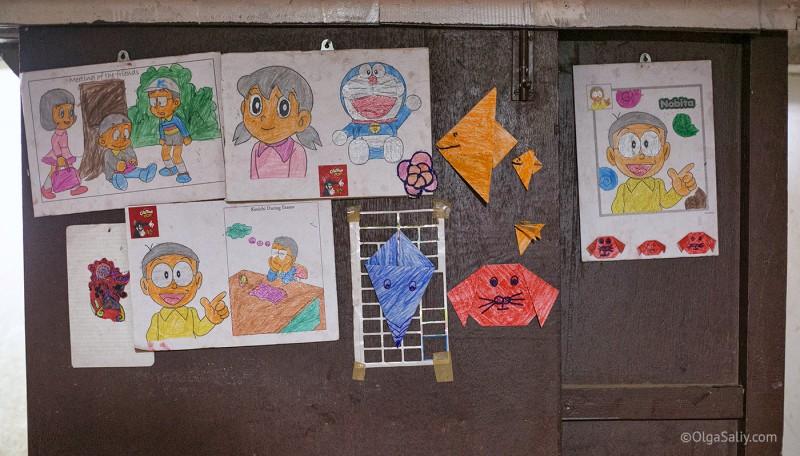 Раскраски Кумари, Непал