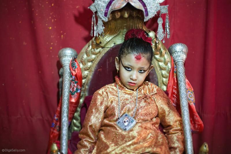В гостях у Кумари в Непале (11)