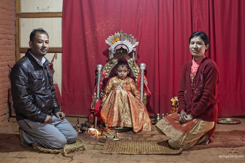 В гостях у Кумари в Непале (9)