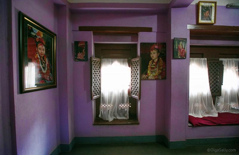 В гостях у Кумари в Непале (5)