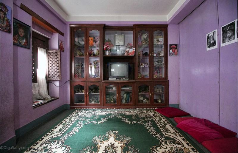 В гостях у Кумари в Непале (4)