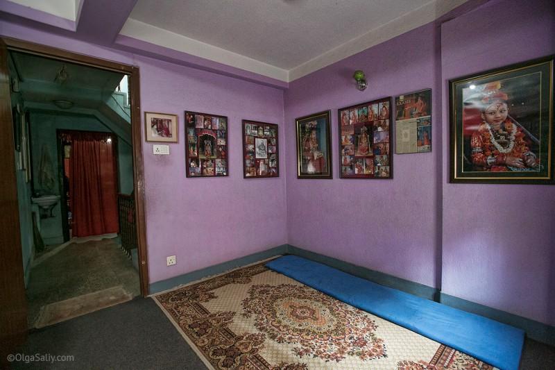 В гостях у Кумари в Непале (3)