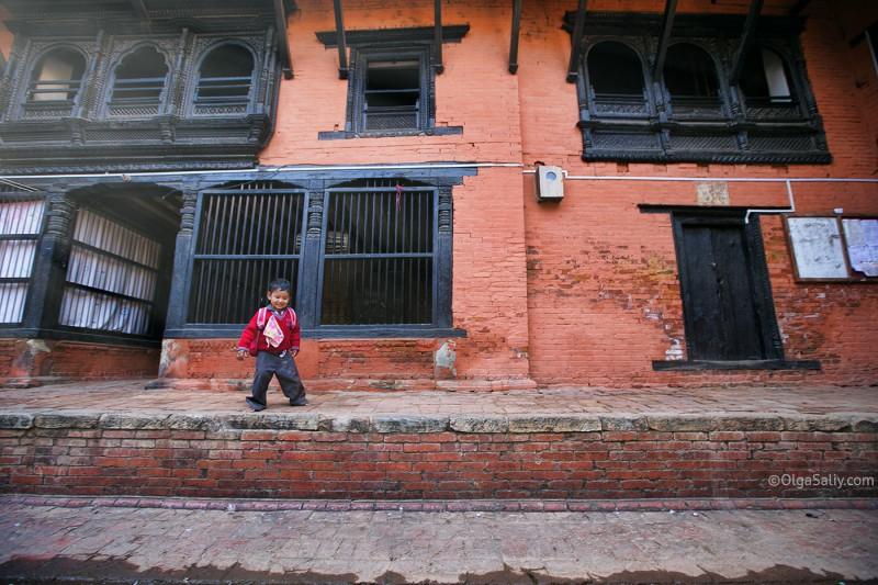 Младший братик Кумари, Непал