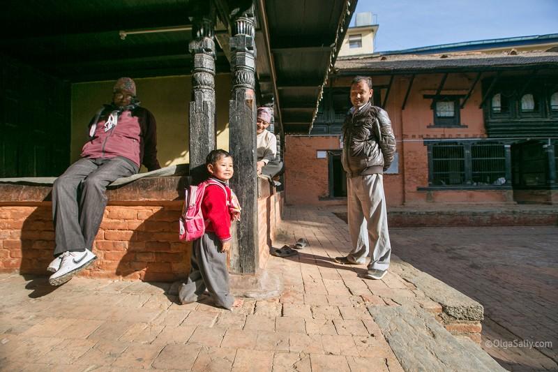 В гостях у Кумари в Непале (17)