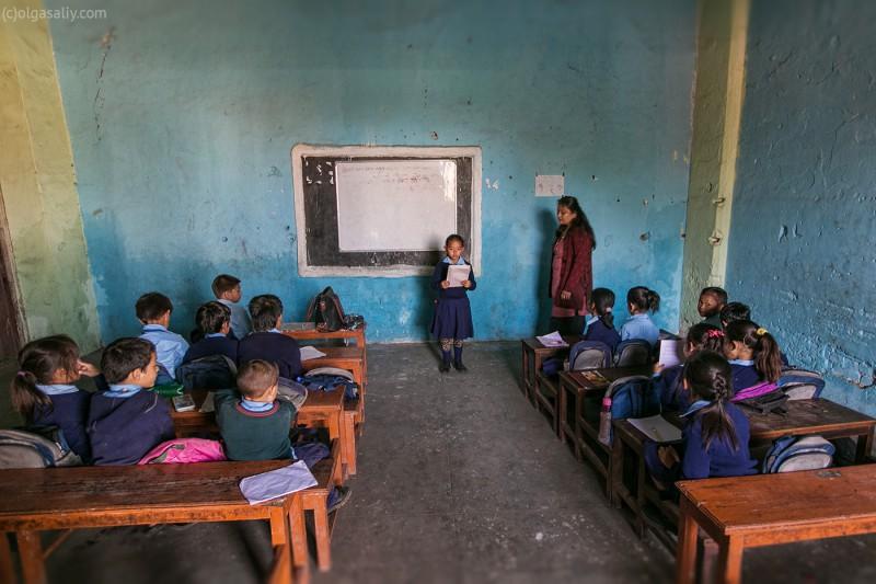 Школа Непал