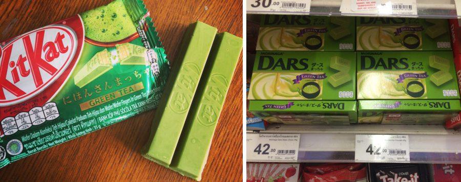 Зелёные шоколадки