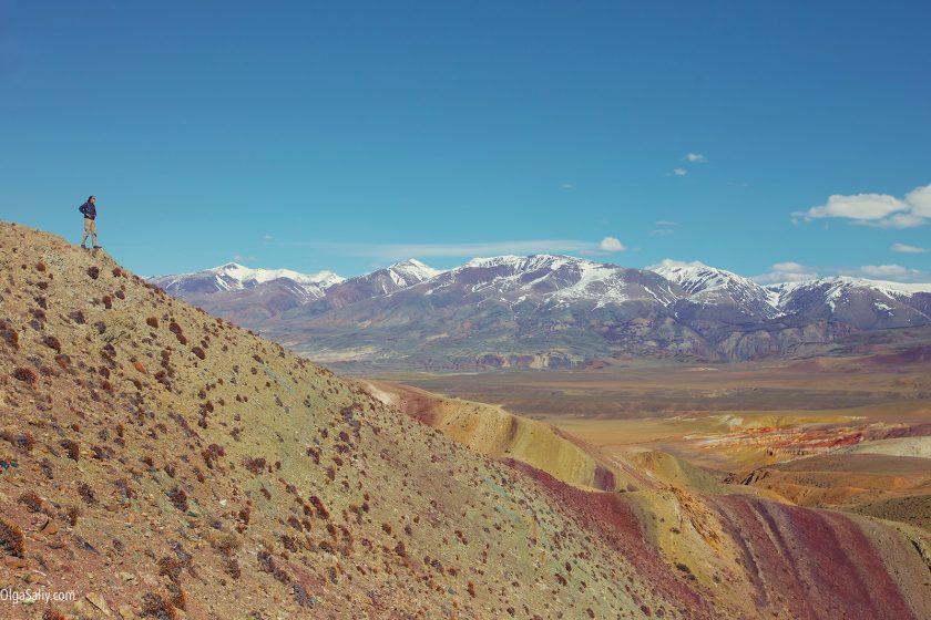 Чаган-Узун, Алтай, Марсианские пейзажи