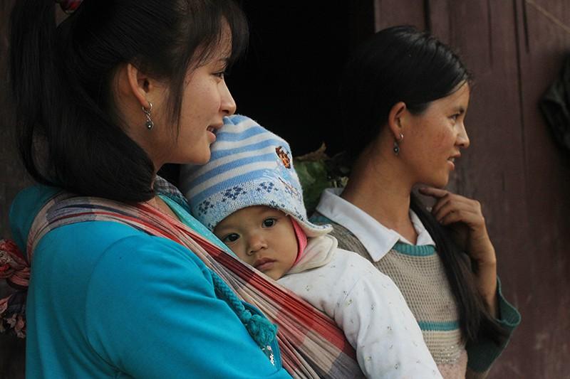 Мьяо Яо племя в Китае