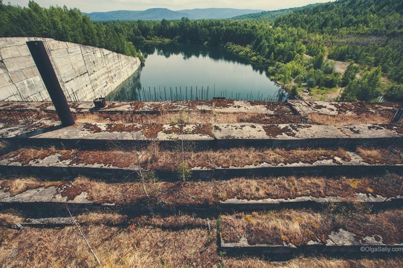 Заброшенная ГЭС в России