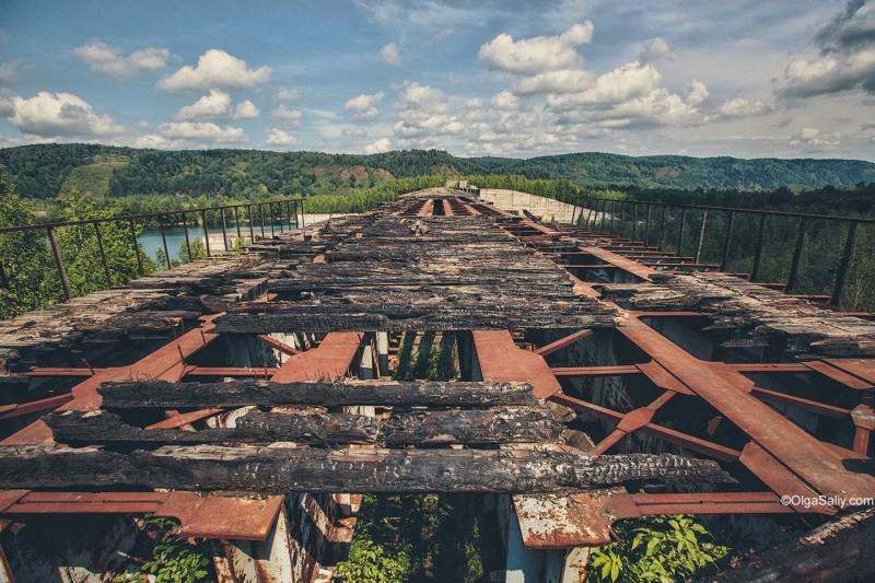 Заброшенная Крапивинская ГЭС не будет достроена