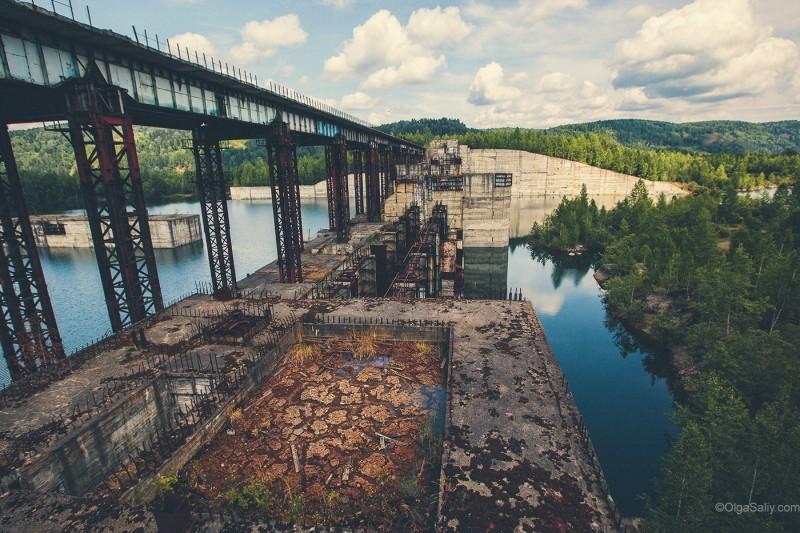 Заброшенная Крапивинская ГЭС, Кемеровская область, Томь (13)