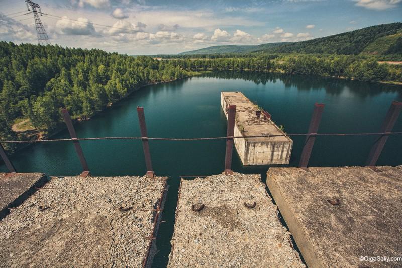 Заброшенная Крапивинская гидроэлектростанция, Кемеровская область, Томь (4)