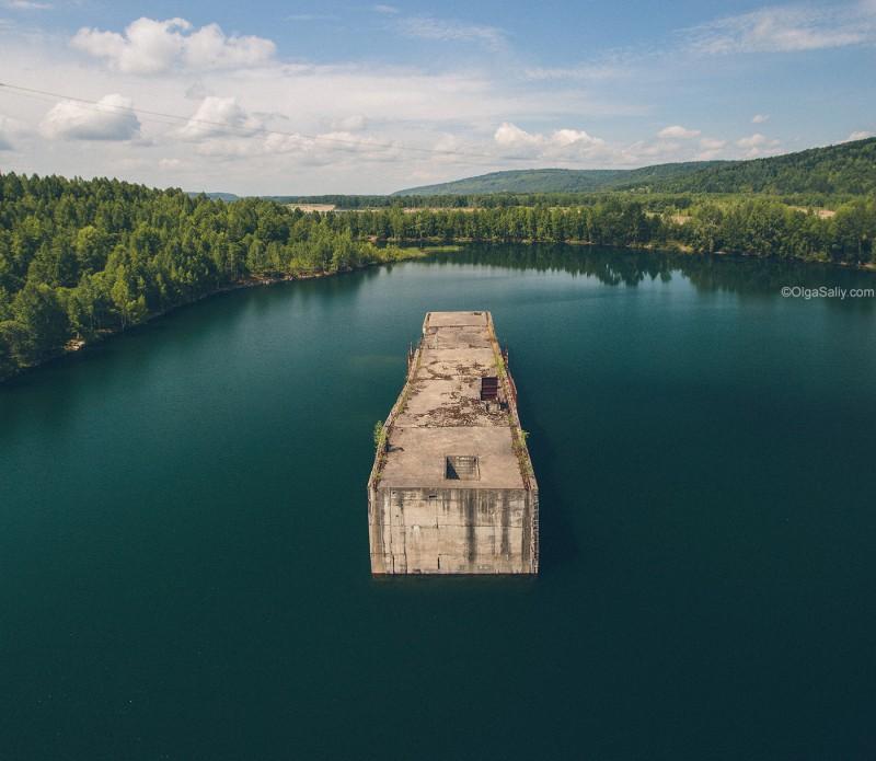 Заброшенная Крапивинская ГЭС, Кемеровская область, Томь (3)