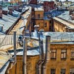 Другой Питер с высоты и не только. Крыши и дворики Петербурга