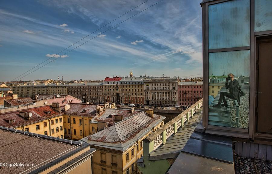 Санкт-Петербург, прогулки по крышам