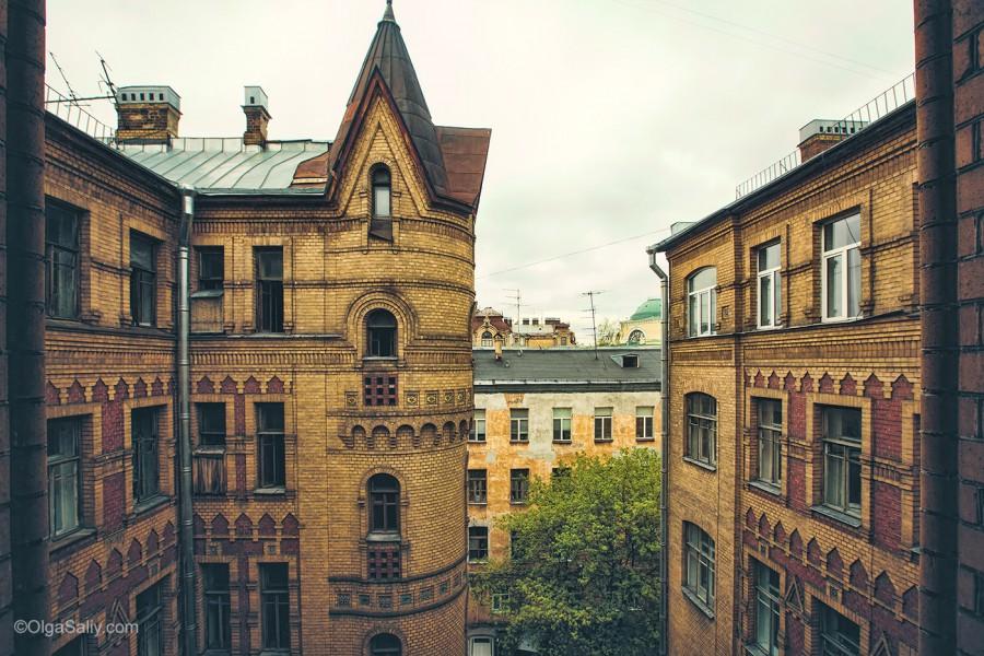 Санкт-Петербург, прогулки по крышам и парадным (29)