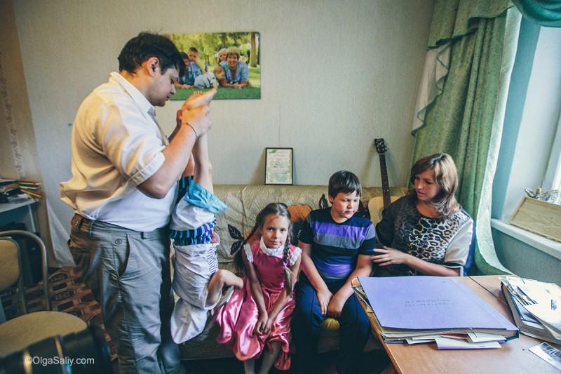 в гостях в Кодинске