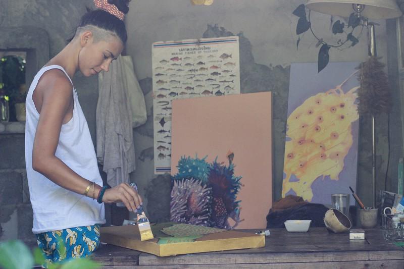 Интервью странствующая художница