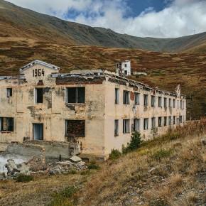Заброшенный ртутный рудник возле села Акташ, Алтай