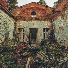 Заброшенный санаторий возле Новосибирска