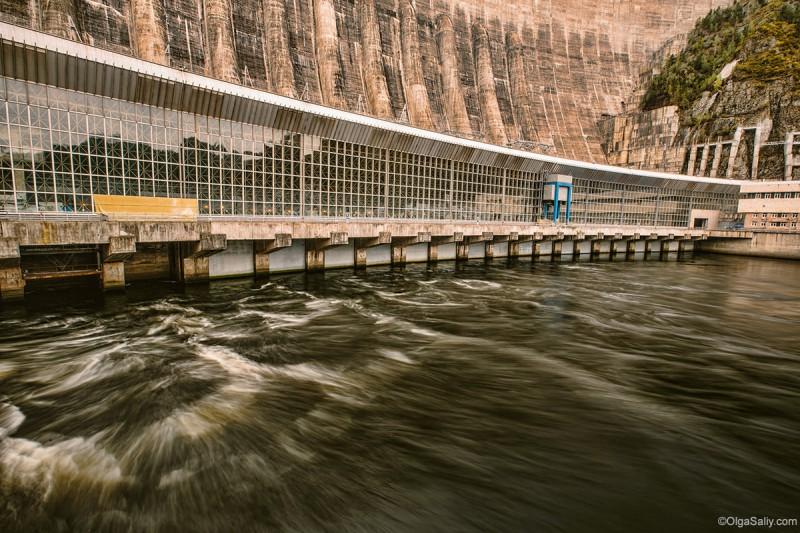 Сила воды на Саяно-Шушенская ГЭС