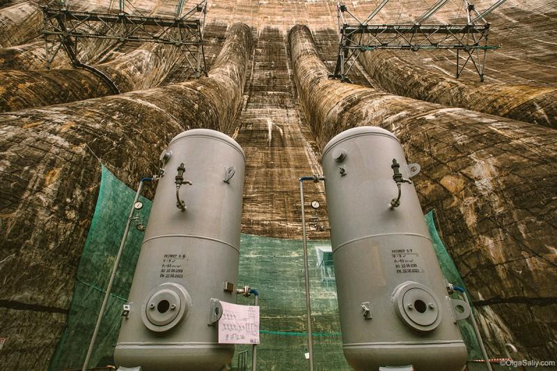 Саяно-Шушенская ГЭС, трансформаторы электричества