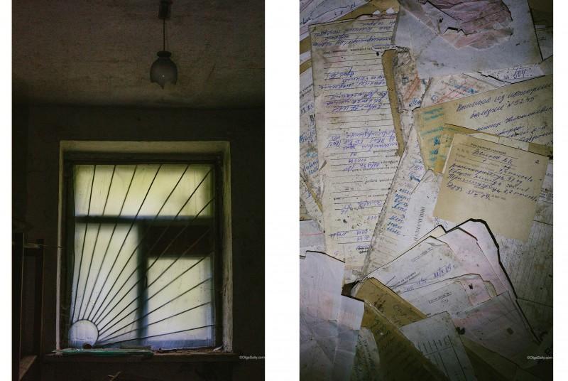Тёмное окно и истории болезней