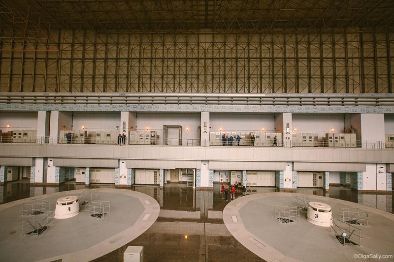 Саяно-Шушенская, гидроагрегаты внутри ГЭС