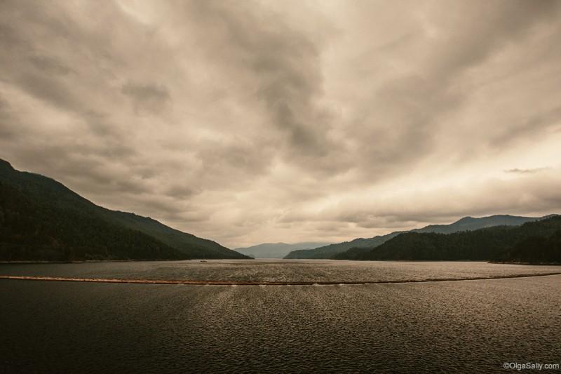 Саяно-Шушенская ГЭС Енисей