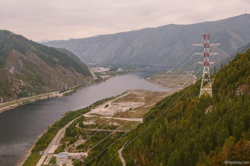 Саяно-Шушенская ГЭС ЛЭП