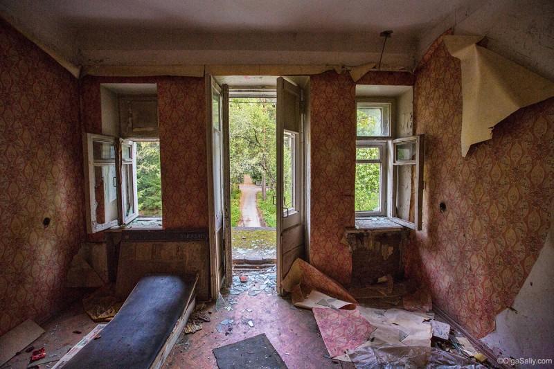 Комната в заброшенном корпусе Новосибирск