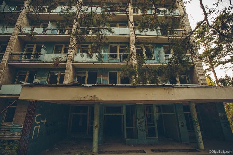 Корпус заброшенный в санатории НСО