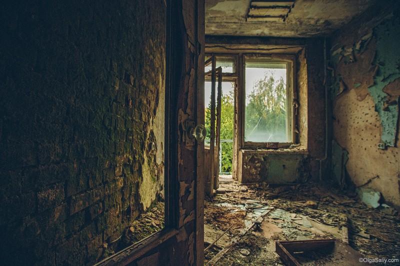 Заброшенный Речкуновский санаторий Новосибирск (6)