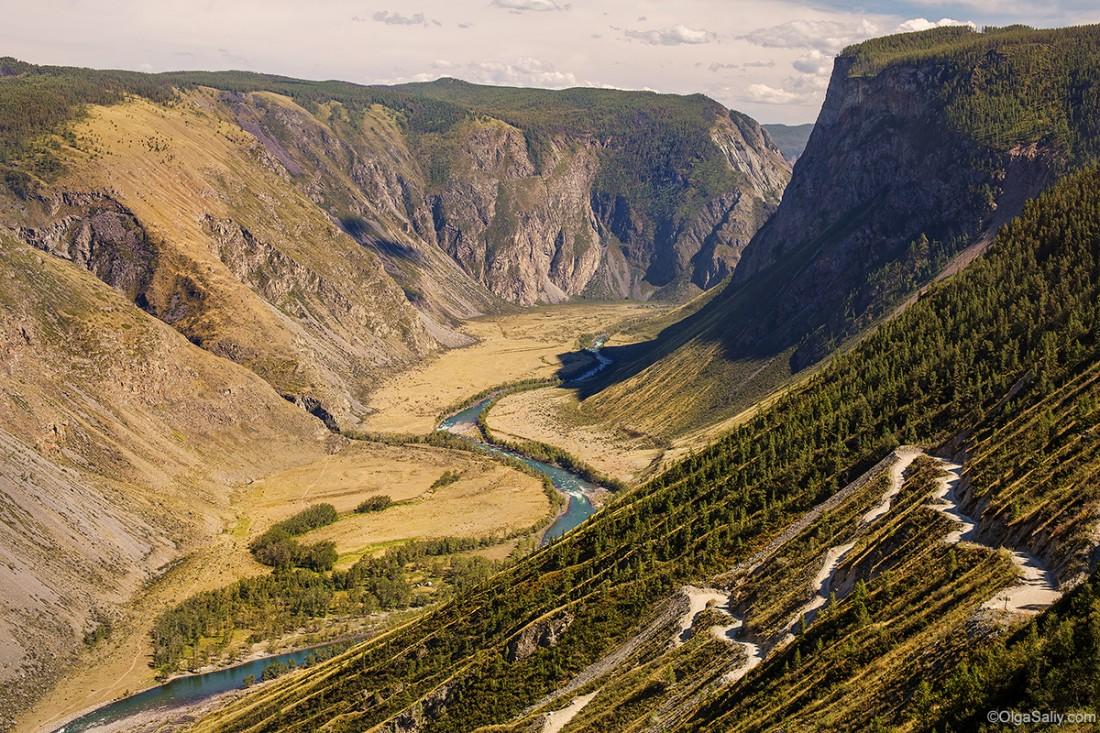 Дорога на перевале Кату Ярык