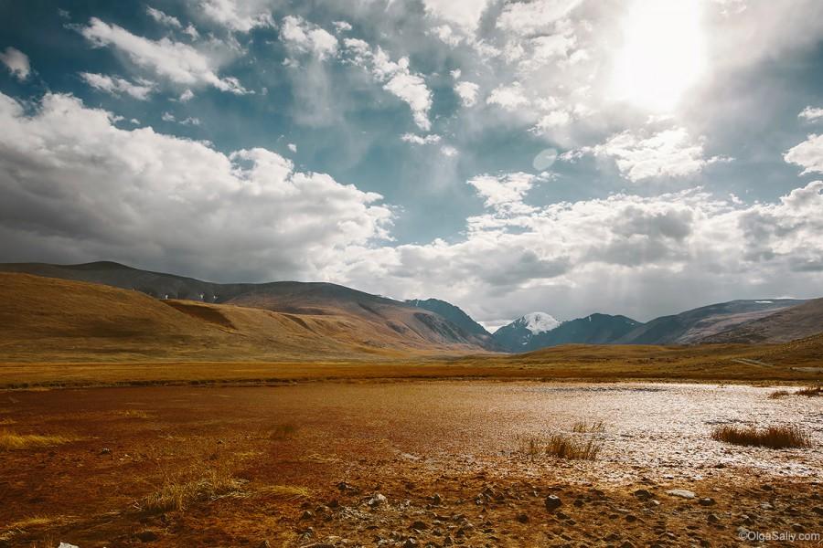 Горный Алтай, марсианские пейзажи