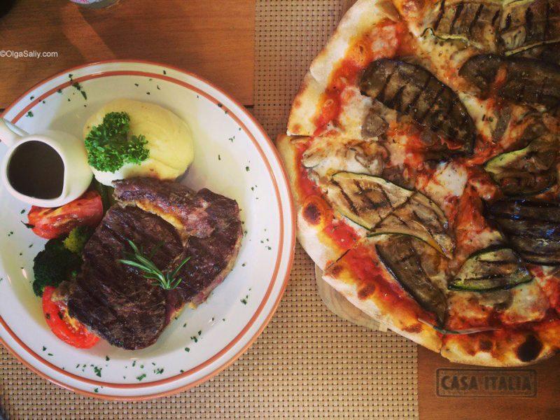 Итальянская еда на Самуи