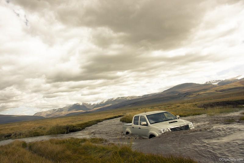 Дороги авто на Укоке