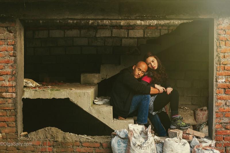 Свадебный трек к Пун Хиллу в Гималаях, Непал (23)