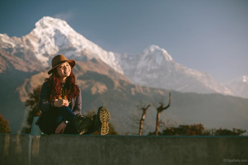 Пун Хилл в Гималаях, Непал (3)