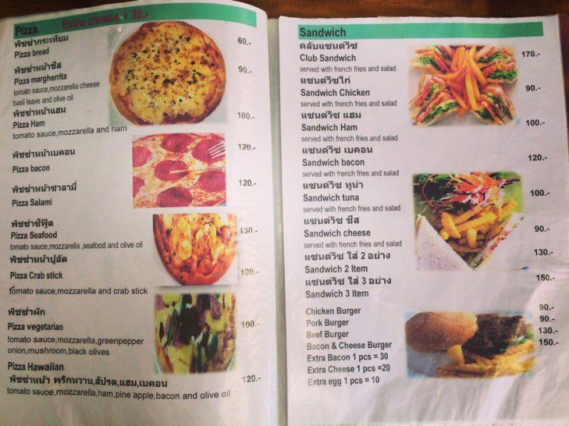 Пицца в кафе Jano Самуи