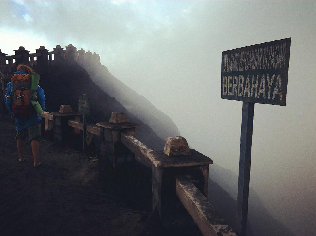 Как пройти на вулканы Индонезии бесплатно