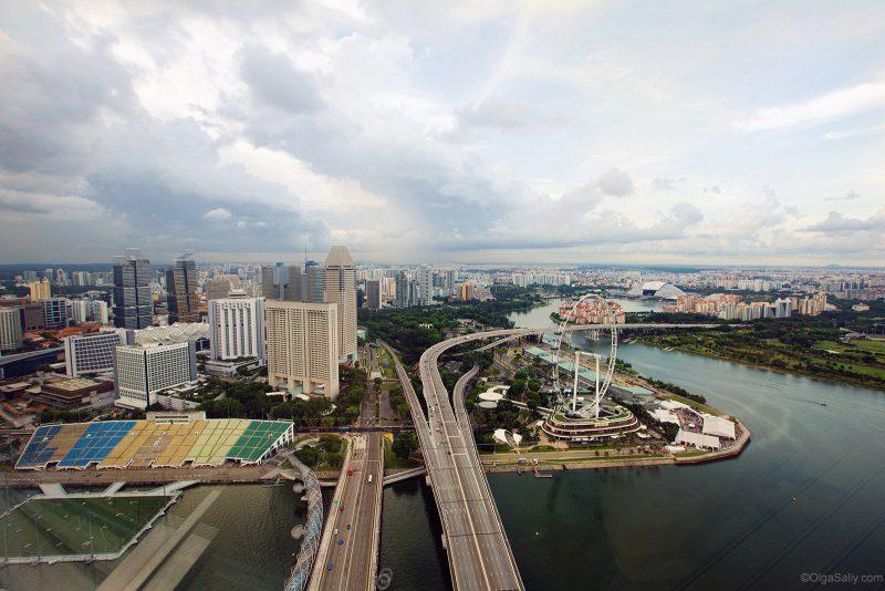 Как попасть на крыше Сингапура