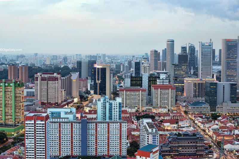 Крыши Сингапура
